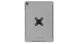 "X Lock Case for iPad, Pro 9.7"" & Air 2, Gray"