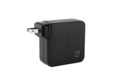 ONsite USB-C 61W Wall Charger (with US, UK, EU & AU wall adapters)