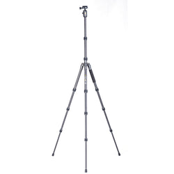 Vanguard - VEO 3 GO 204AB Aluminum Tripod / Monopod with Ball Head, Bluetooth Remote