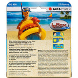 AgfaPhoto LeBox Ocean 35mm Waterproof Disposable Camera (27 Exposures)