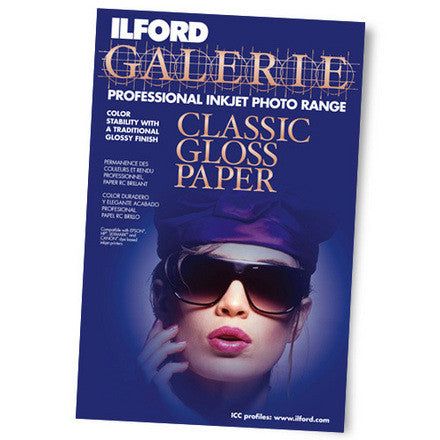 "Classic Gloss 240gsm 11""x17"", 25 sheets"