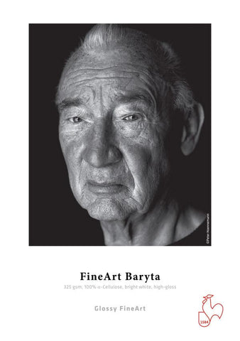 "FineArt Baryta 325 gsm 4""x 6"" 30 sheets"