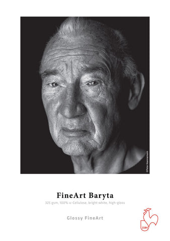 Hahnemuhle - Fine Art Baryta 325 gsm 8.5x11, 25 sheets