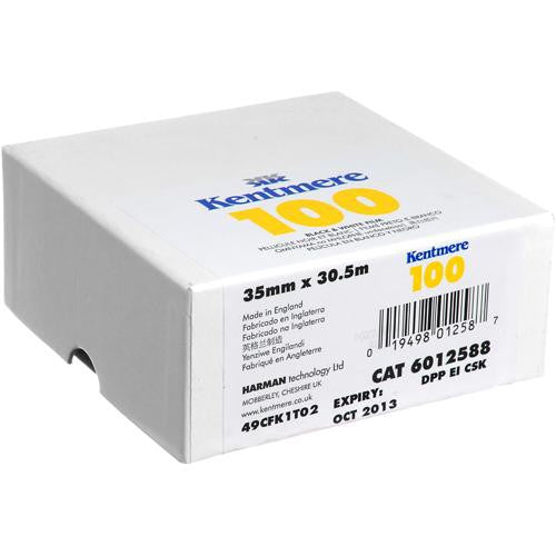 Kentmere - 100 35mm x 100 Bulk Black and White Negative Film