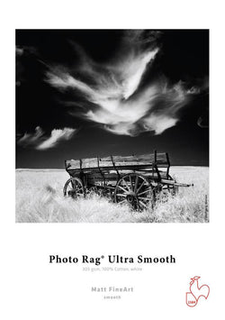 "Photo Rag Ultra Smooth 305 gsm 4""x 6"" 30 sheets"