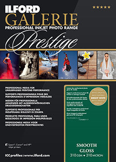 "Prestige Smooth Gloss 11""x17"", 25 sheets"