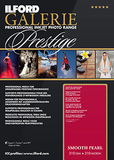 "Prestige Smooth Pearl, 13""x19"", 25 sheets"