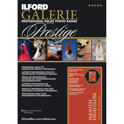 Ilford Galerie Prestige Smooth High Gloss 13x19