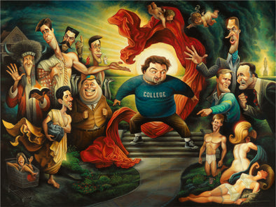 Knowledge is Good: A Tribute to Animal House | Fine Art Giclée Prints | Gifts for Fans of Animal House