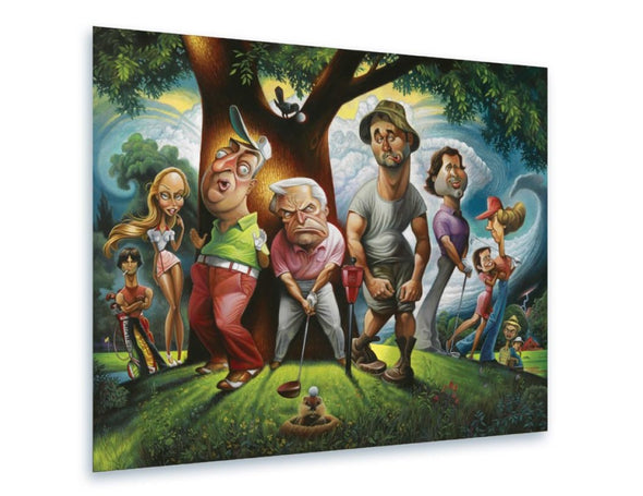 Fine Art | Bushwood: A Tribute to Caddyshack | Giclée or Offset Prints