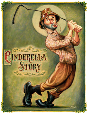 CINDERELLA STORY. TRIBUTE TO BILL MURRAY - Fine Art Giclée print - framed or unframed