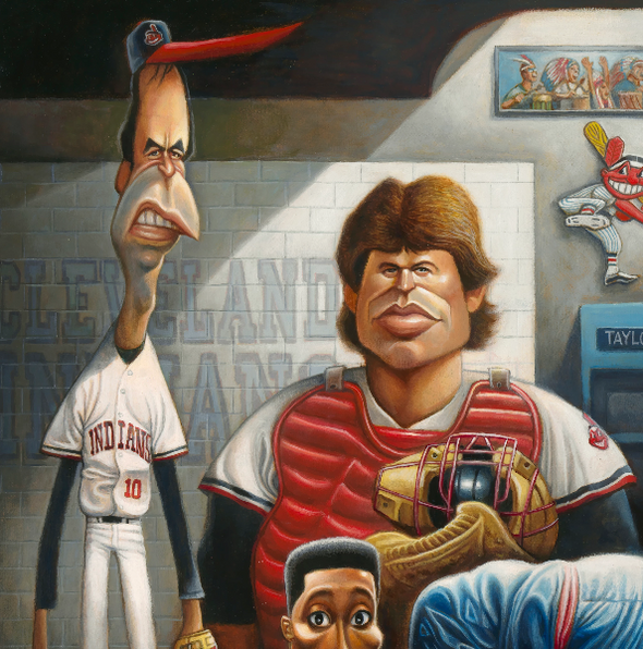 The Tribe: A Tribute to Major League Giclée Print | Gifts for Fans of Major League
