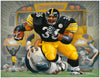 THE BUS. A TRIBUTE TO JEROME BETTIS - Fine Art Giclée print in 3 sizes - framed or unframed
