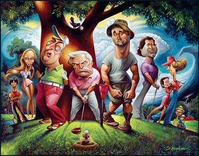 Fine Art | Bushwood: A Tribute to Cadyshack | Giclée or Offset Prints