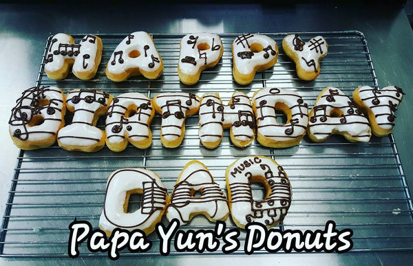Lettered Donuts