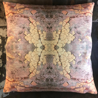 Rhodonite Sky scatter cushion