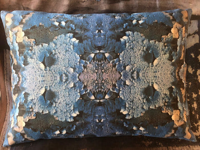 Blue Sodalite scatter cushion