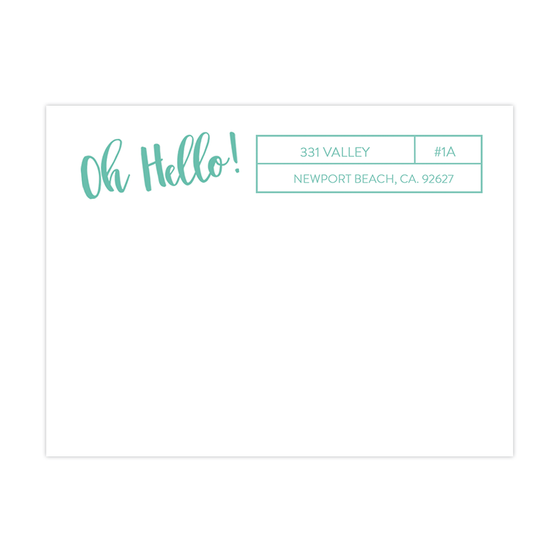BOXXY MAILING LABEL