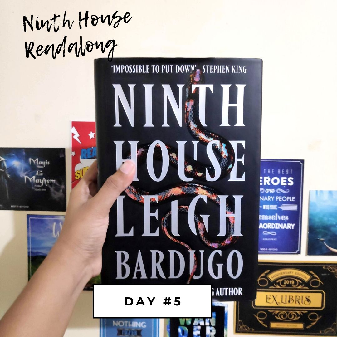 Ninth House Readalong - Day #5