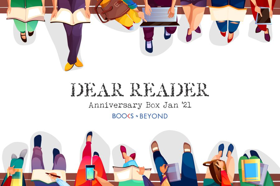 Dear Reader - Anniversary Book Box - Jan 21