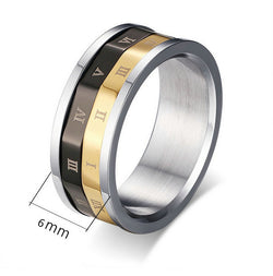 Roman Numeral Spinner Ring Toy
