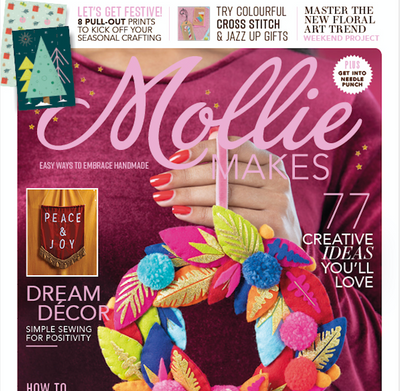 MOLLIE MAKES ISSUE 122