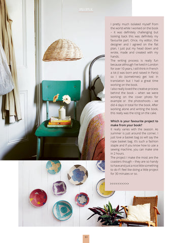 4 Magazine features La Basketry