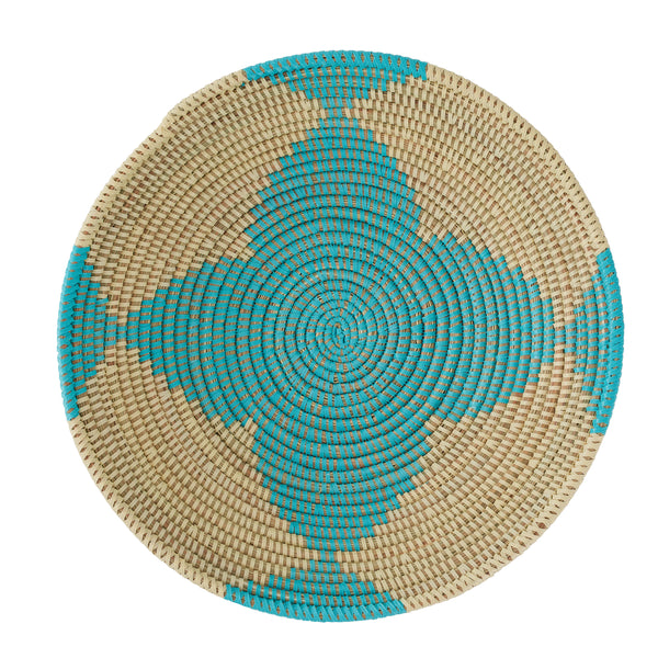 african basket flower pattern