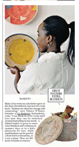 tabara ndiaye of la basketry in the daily telegraph