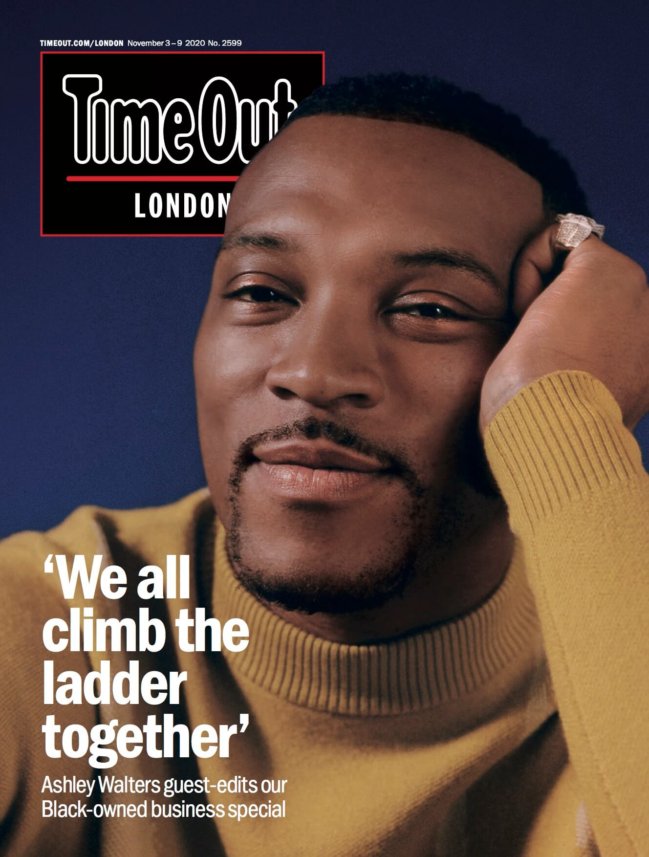 time out front cover november 2020 featuring la basketry black businesses to support and update your home decor