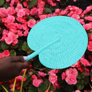 Handwoven Fan - One Colour