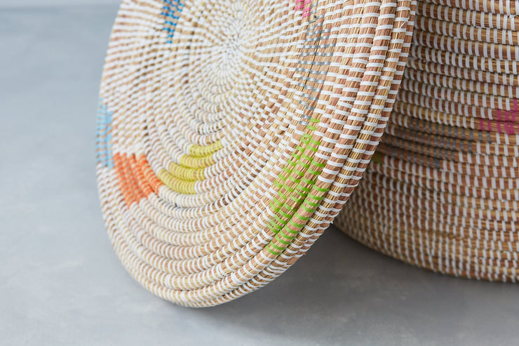 paniers de rangement africains -La Basketry