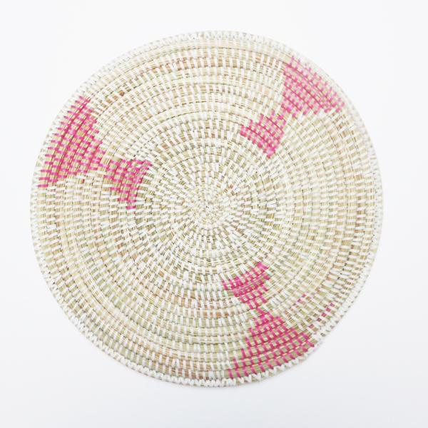 african woven placemat-La Basketry