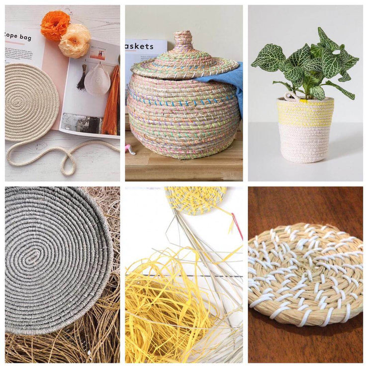 baskets the book for crafters and diy basket makers by tabara n'diaye multiple tutorial projects