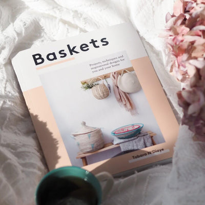 baskets the book for crafters and diy basket makers by tabara n'diaye