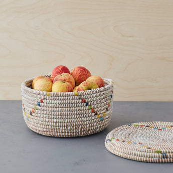 stylish african storage baskets-La Basketry