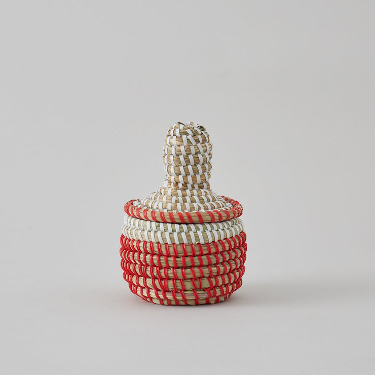 small african baskets with lid-La Basketry