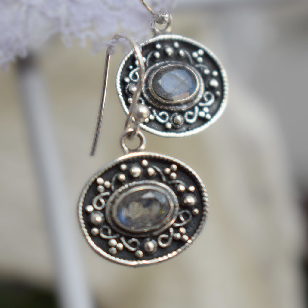 Lovely Little Labradorite Earrings