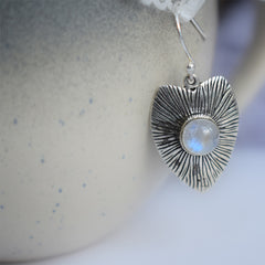 Heart of the Moon Earrings
