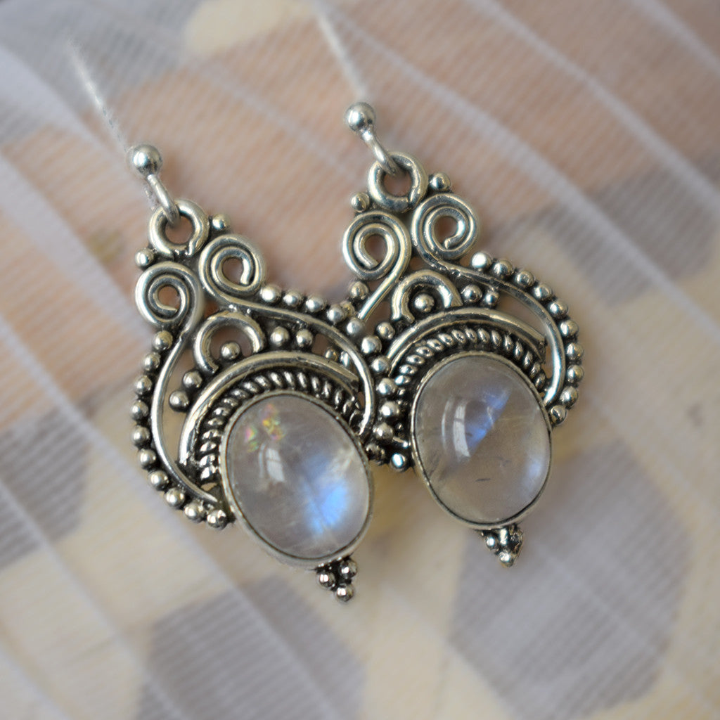 The Rainbow Moonlight Earrings