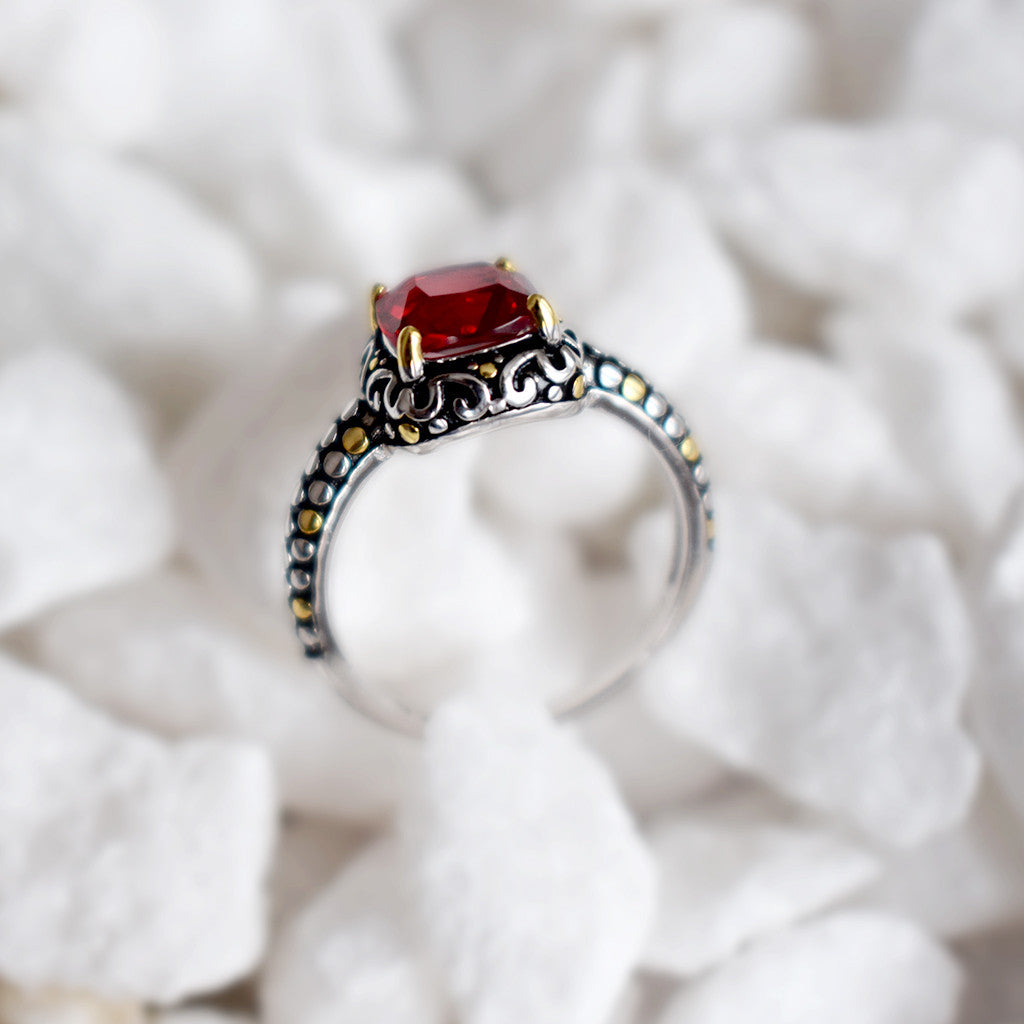 The Be Mine Forever Ring