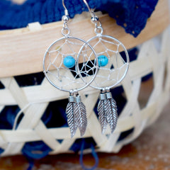Gypsy Soul Dreamcatcher Earrings