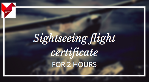 Gift Certificate for 2h sightseeing flight with Cessna T206