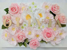 Personalised Flower Name Frame