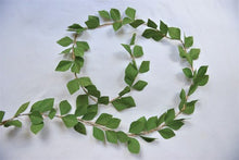 Green Paper Leaf Garland