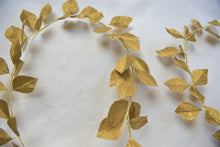 Gold Paper Leaf Garland