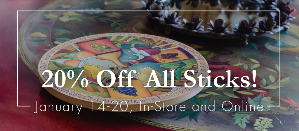 📣Annual January SALE - 20% OFF All Sticks!!✨