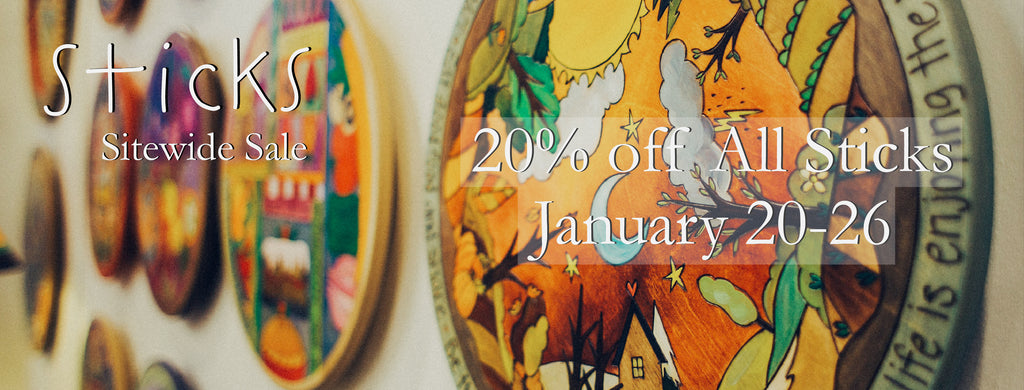 📣It's here! Our annual January 20% off Sticks Sale!!🎉