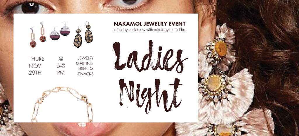 Nakamol Jewelry Event + Holiday Trunk Show