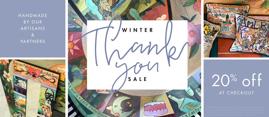 THANK YOU Winter Sale - 20% Off Site-Wide!*